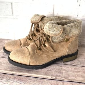 Arizona Jean Co. Boots Size 9 M Faux Suede Leather